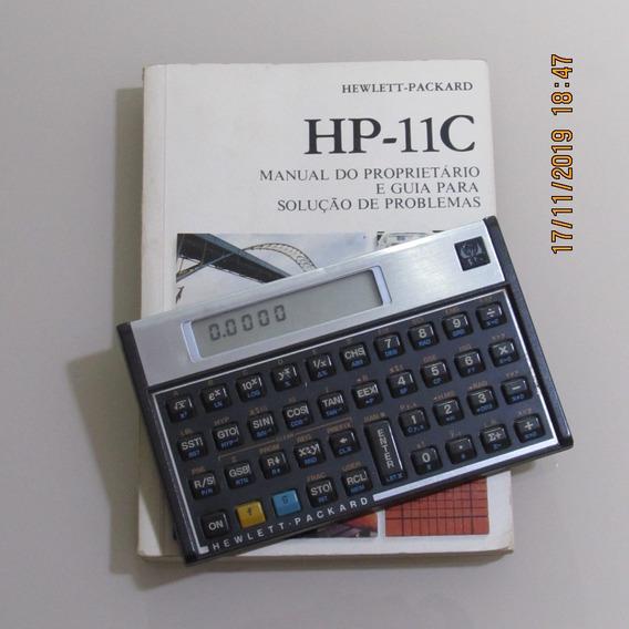 Calculadora Hp 11c Em Perfeito Estado Original