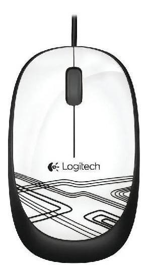 Mouse Logitech M105 Branco 1000dpi - 910-003138 Nf-e