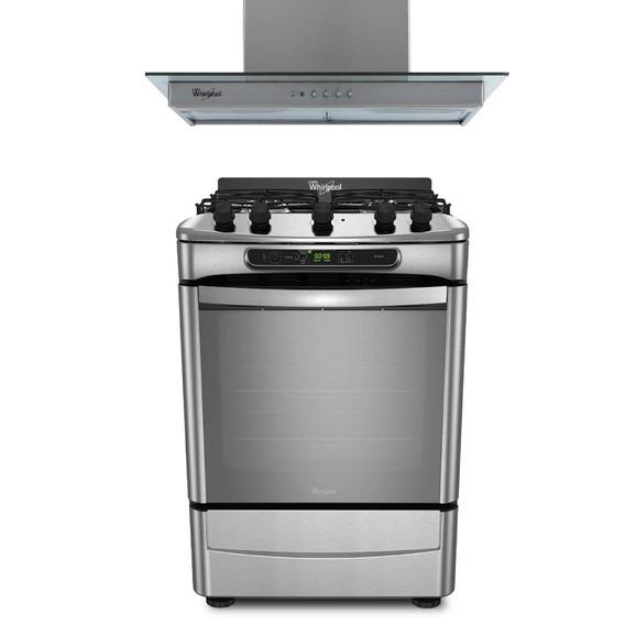 Combo Cocina 60 Cm Y Campana Wf560xt+wai63ar