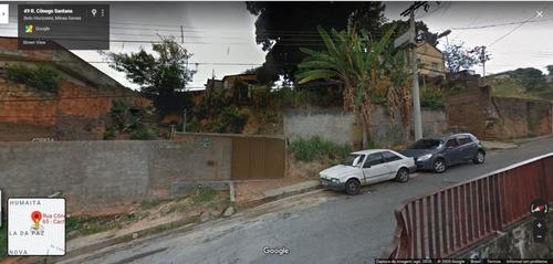 Imagem 1 de 8 de Lote Com 393 M² No Bairro Cachoeirinha - Oportunidade Para Construtores! - Mg - Te0024_de