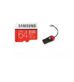 Cartão Samsung Micro Sdxc 64gb 100mb/s+ Adaptador P/ Usb