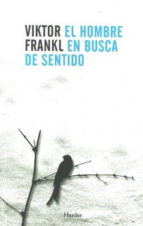 Libro Nuevo. El Hombre En Busca De Sentido. Viktor Frankl