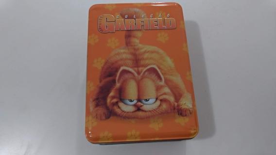 Lata Coleção Garfield - Dvd - 3 Discos