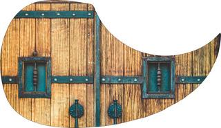 Escudo Palheteira Resinada Violão Castle Gate