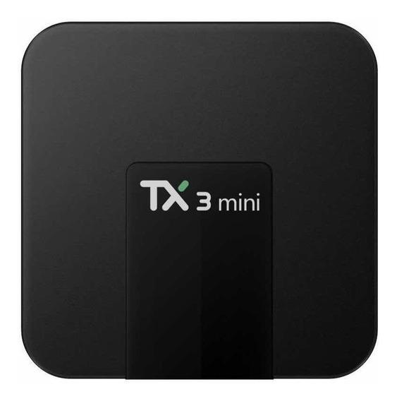 Tv Box Tx3 Mini Transforma Em Smart Tv 2gb Ram 16gb Rom