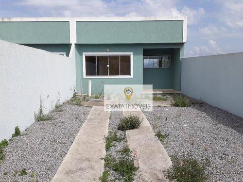 Imagem 1 de 22 de Casa Linear Independente, Maria Turri, Rio Das Ostras. - Ca0871