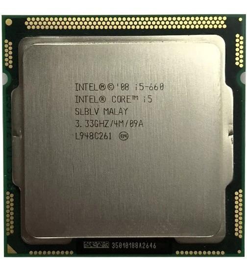 Processador Intel Core I5 - 660 3.33ghz