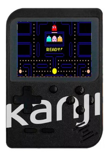Consola Portatil Retro Kanji Pocket 400 Juegos En 1 Mini