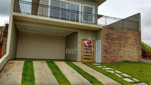 Casa Com 3 Dormitórios À Venda, 200 M² Por R$ 900.000,00 - Jardim Reserva Bom Viver De Indaiatuba - Indaiatuba/sp - Ca0056