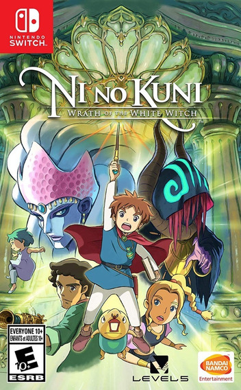 Ni No Kuni Wrath Of The White Witch - Switch Pronta Entrega