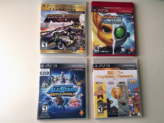 4 Juegos Playstation 3 Apocalypse All-stars Ratchet Best Ps3