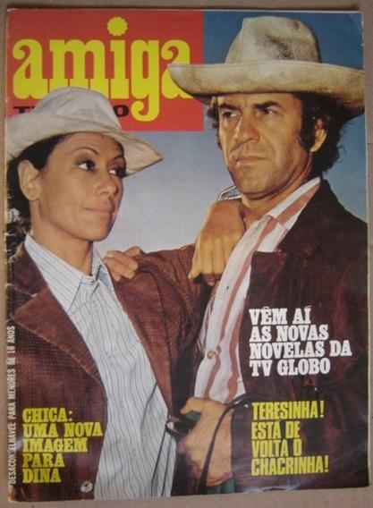 Revista Amiga Tv - Juca De Oliveira E Dina Sfat.