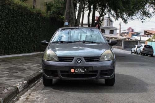 Imagem 1 de 15 de Renault Clio Authentique Hi-flex 1.0 16v 3p