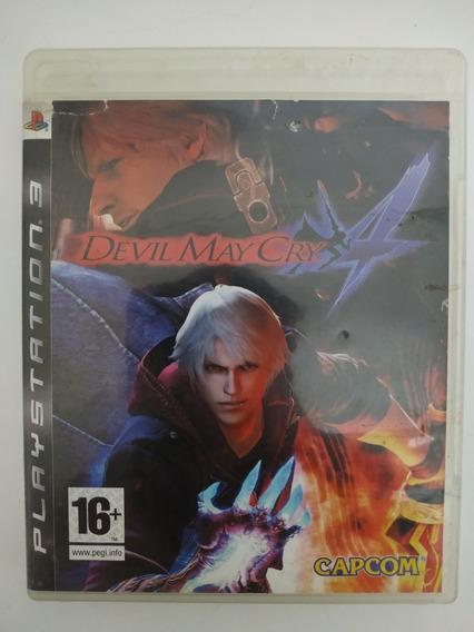 Devil May Cry 4 Ps3 Mídia Física Original Playstation 3