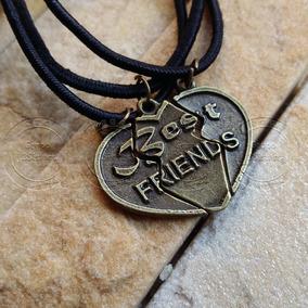 Colar Da Amizade Coração 3 Partes Best Friends Amigas