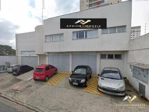 Salão Para Alugar, 844 M² Por R$ 15.000,00/mês - Vila Valparaíso - Santo André/sp - Sl0133