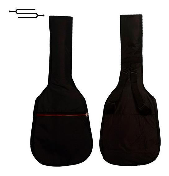 Funda Guitarra Criolla Acolchada Impermeable Correa Full