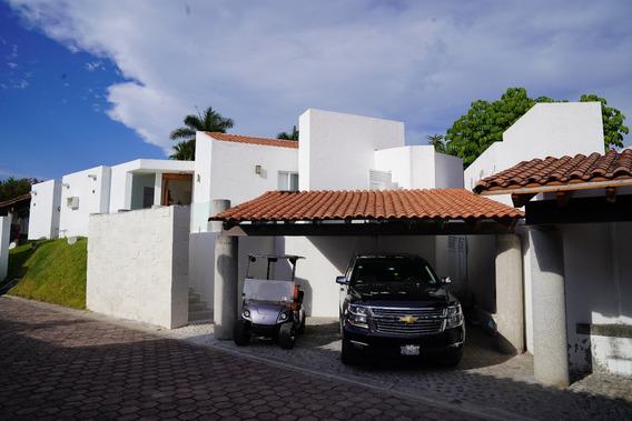 Increíble Casa Alberca En Club Golf A 10 Min De Cuernavaca