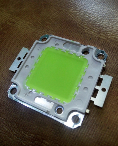 Led Chip 100w Verde + Crema Disipadora