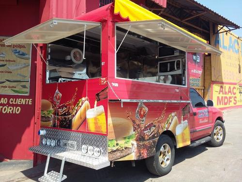 Food Truck Para S10 Ranger Montagem (montagem Sem O Veiculo)