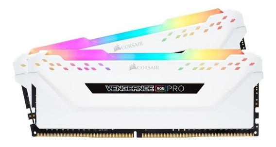 Memória RAM 16GB 2x8GB Corsair CMW16GX4M2C3200C16W