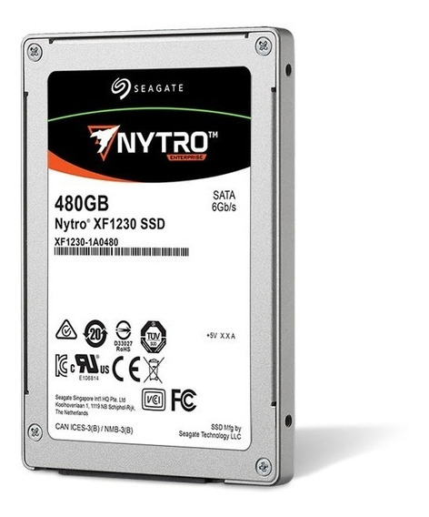 Ssd 480gb Seagate Enterprise Sata 6gb/s Xa480le10063