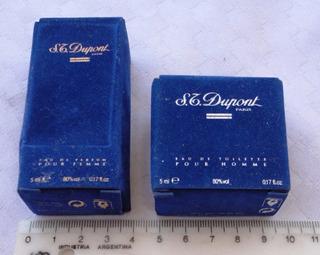 Monijor62-atiguos Perfumes Miniaturas S.t.dupont - Vacios