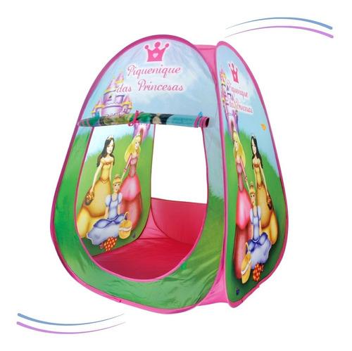 Barraca Infantil Portatil Piquinique Princesas Envio Rápido