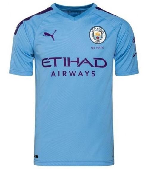 Uniforme Manchester City 2019/2020 Oficial Pronta Entrega