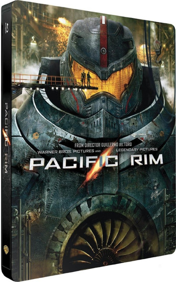 Titanes Del Pacifico Steelbook Bluray + Dvd