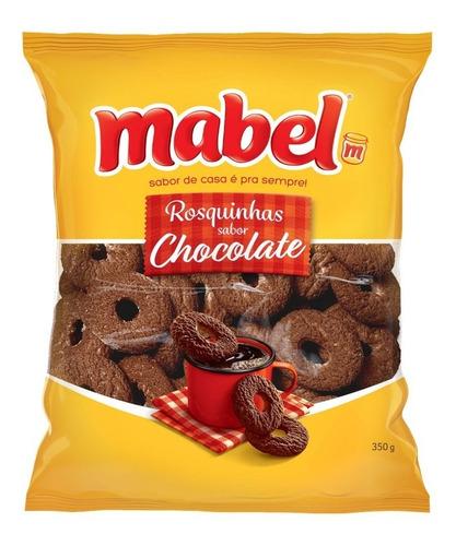 Biscoito Rosquinha Chocolate Mabel Pacote 350g