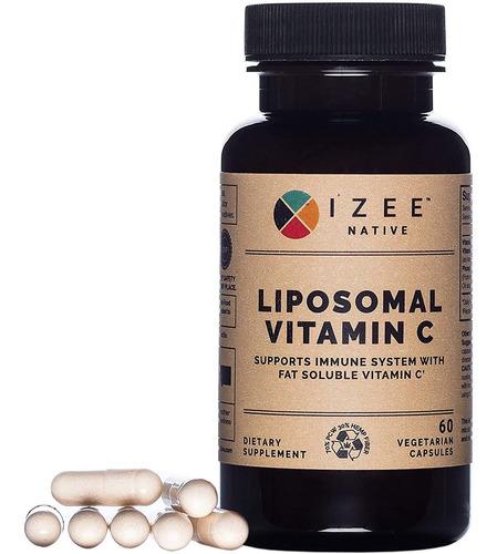 Izee Native Liposomal Vitamina C Suplemento - Apoya El Siste
