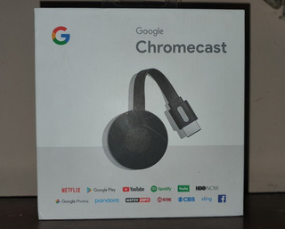 Google Chromecast 2da. Generación (usado) Excelente Estado
