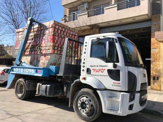 Ford Cargo Portavolquete + 9 Volquetes C/fondo Comercio