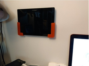 Suporte De Parede Para Tablet E Ipad Universal 3d