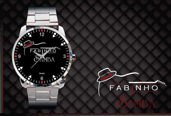 Relógio De Pulso Personalizado Logo Fabinho Samba