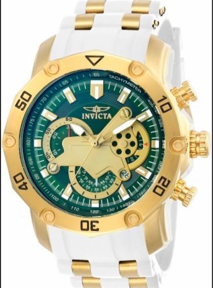 Relógio Invicta 23422 Pro Diver Banhado A Ouro 18k
