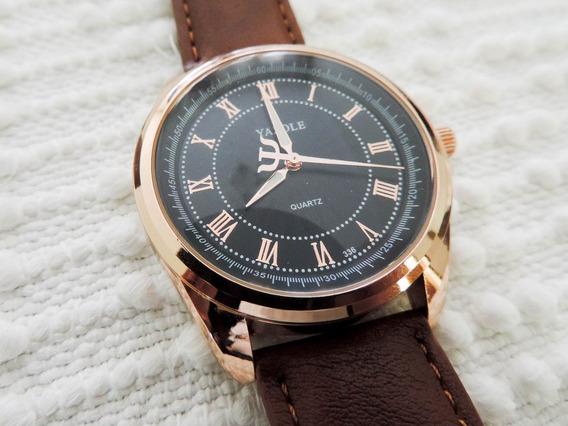 Relógio De Luxo Yazole