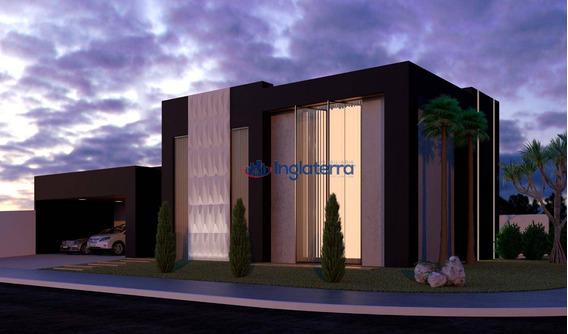 Casa À Venda, 329 M² Por R$ 1.920.000,00 - Sun Lake Residence - Londrina/pr - Ca1428