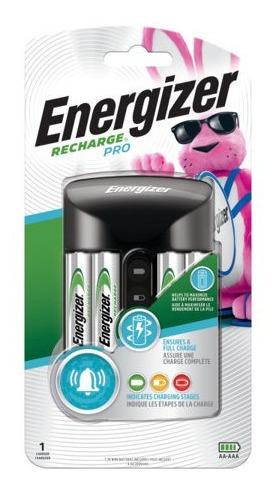 Cargador Energizer Pro Y 4 Baterias Aa 2000mah V2221