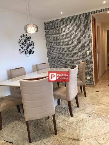 Apartamento Com 3 Dormitórios À Venda, 75 M² Por  - Jardim Consórcio - São Paulo/sp - Ap32178