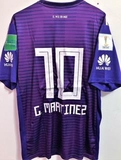 Camisa River Plate Mundial Fifa 2018 G. Martinez #10