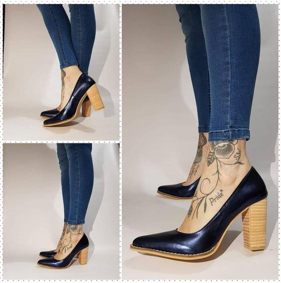 Stilettos Colores Metalizados Exclusivos De Stampa Woman