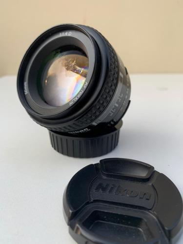 Lente Nikon 50mm F/1.4d Af-s Fx - Usada