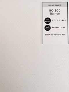 Persiana Enrollable Blackout Bo 500 Alta Calidad