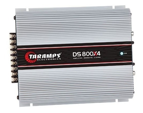 Amplificadores Taramps Ds800x4 Dig 800wrms
