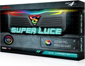Memória Geil Super Luce Rgb 16gb (2x8gb) 3000mhz P Amd Ryzen