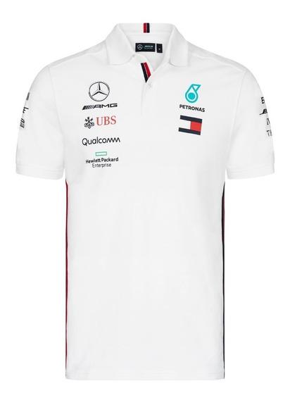 Camisa Polo Mercedes Benz Petronas Hamilton **nueva 2019**