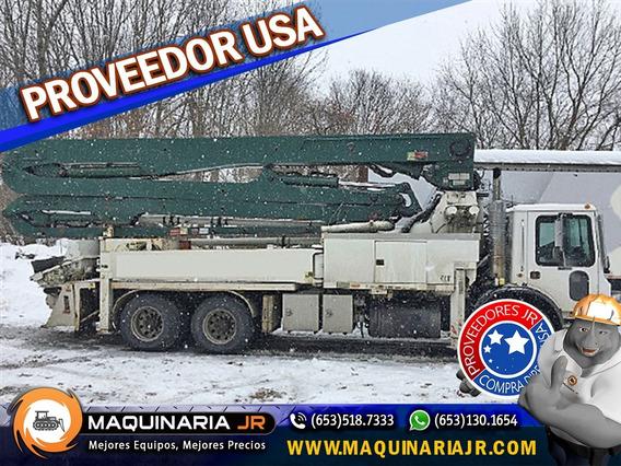 Bomba De Concreto Mack 36 Mts 2003