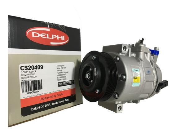 Compressor De A/c Jetta / Passat Original Delphi